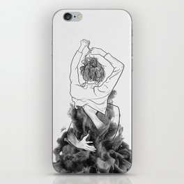 I want to know you little more deep. iPhone Skin