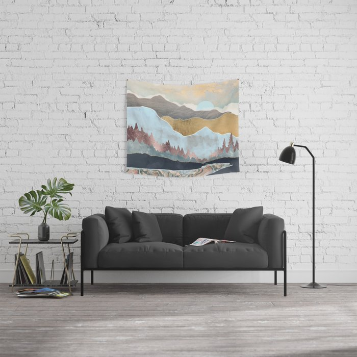 Winter Light Wall Tapestry