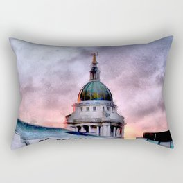 Old Bailey in London Rectangular Pillow