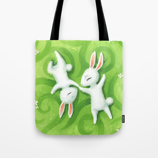 Fluffy Summer Tote Bag