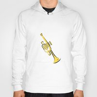 trumpet Hoodies featuring Trumpet by shopaholic chick