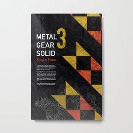 Metal Gear Solid 3: Snake Eater Metal Print