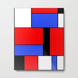 Mondrian #51 Metal Print