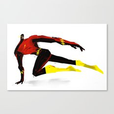 Flash Canvas Print
