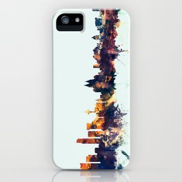 Liverpool England Skyline iPhone Case