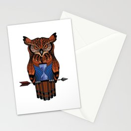 Owl time Stationery Cards