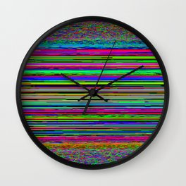 Super_Stripez Wall Clock
