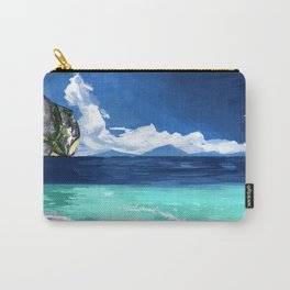 Beach Landscape Carry-All Pouch