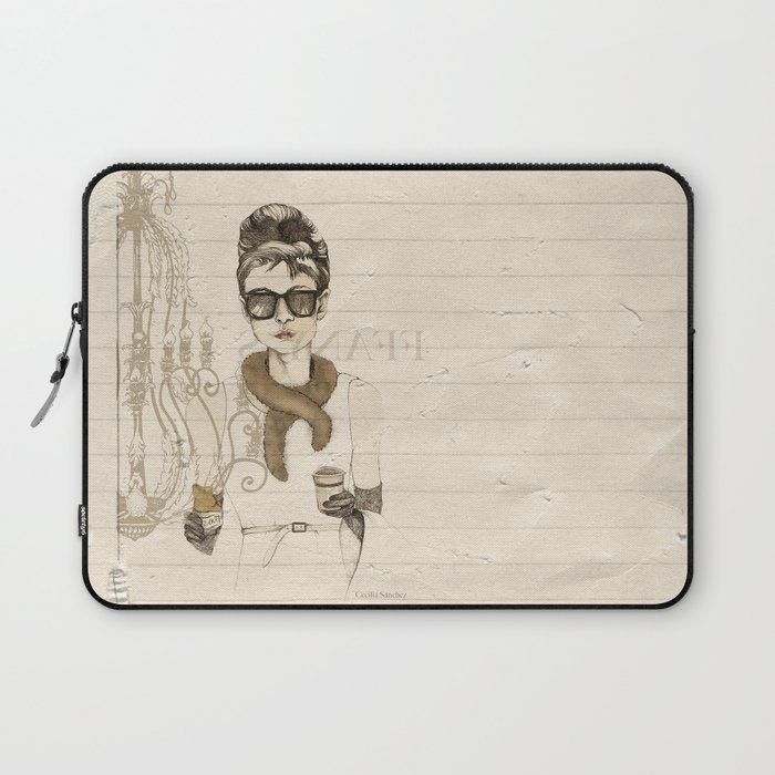 My breakfast at Tiffany's Laptop Sleeve
