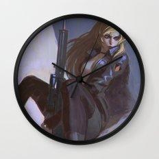 Sniper Wolf Wall Clock