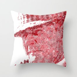 Legendary Alabama coach Bear Bryant Throw Pillow