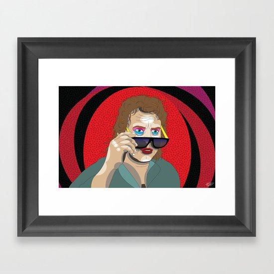 All Outta Bubblegum Framed Art Print