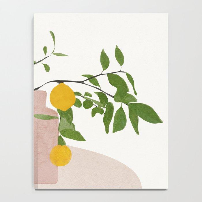 Lemon Branches Notebook