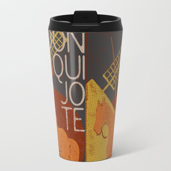 Books Collection: Don Quixote Travel Mug