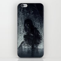 iPhone & iPod Skins featuring Nocturne by loish
