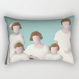 The Family Portrait Rectangular Pillow