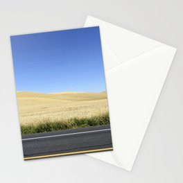 Wheat Fields Stationery Cards