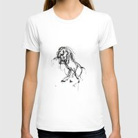 into the wild T-shirts featuring Horse (Wild) by Paper Horses