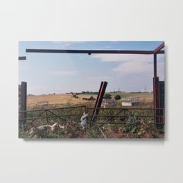 Untitled - 23.08.2013 - Sussex Downs Metal Print