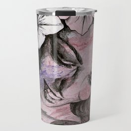 In The Year Of Our Lord (smiling flower lady portrait) Travel Mug