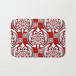 Three colors pattern Bath Mat