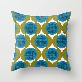Rosenthal Green Throw Pillow