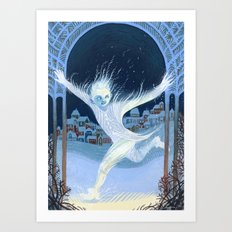 Little Jack Frost Art Print