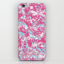 Unicorn abstract hand-painted texture iPhone Skin