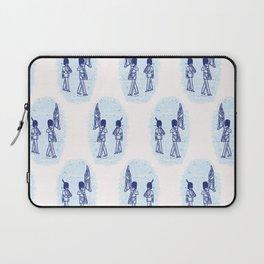 Sketchy London Royal Guard seamless pattern. Laptop Sleeve