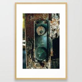 KNOB V2 Framed Art Print