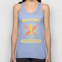 Baking Is My Superpower Unisex Tank Top