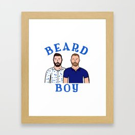 Beard Boy: Karl & Thomas Framed Art Print