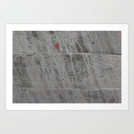 Concrete 02 Art Print