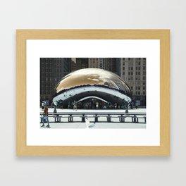 bean to cloud-gate recently? Framed Art Print