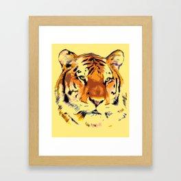 My Tiger Framed Art Print