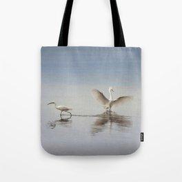 Egret Wings Tote Bag