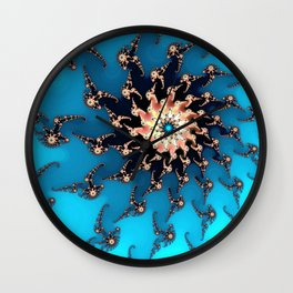 Sea Creatures Wall Clock