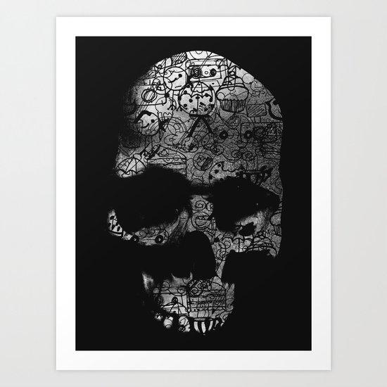 Endless Doodle Art Print