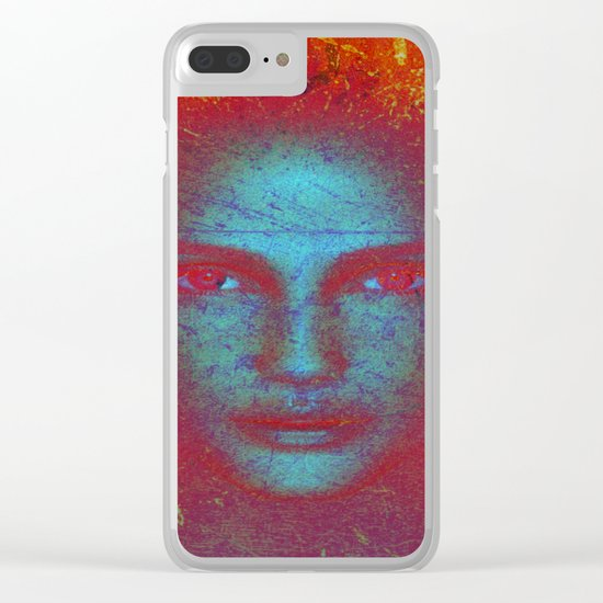 ANDROGYNE Clear iPhone Case
