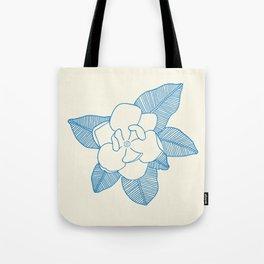 Magnolia Flower Tote Bag