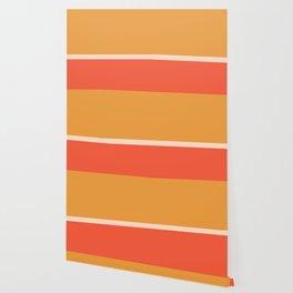 Golden Summer Color Block Wallpaper
