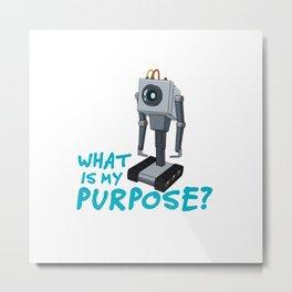 Purpose of Life Metal Print