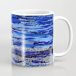 Blue Dream Abstract Painting  Coffee Mug