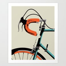 Bike Portrait 2 Art Print