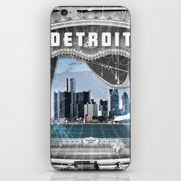 The Big Show - Detroit, Michigan iPhone Skin