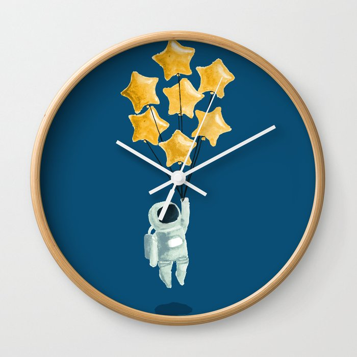 Astronaut's dream Wall Clock