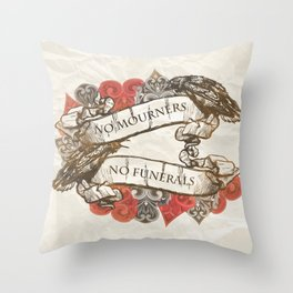 NM.NF Throw Pillow