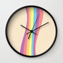 RAINBOW TWIST Wall Clock