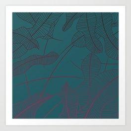 Nature - Gradient Art Print