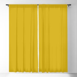 Antique Moss Yellow Solid Color Trend Autumn Winter 2019 2020 Blackout Curtain